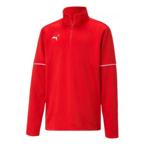 Puma TEAMGOAL 1 4 ZIP TOP CORE JR - Jungen Sweatshirt
