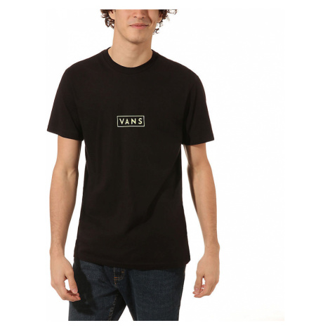 VANS Vans Easy Box T-shirt (black-sharp Green) Herren Schwarz