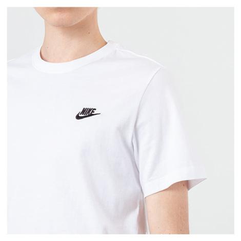 Nike Sportswear Club Tee White/ Black