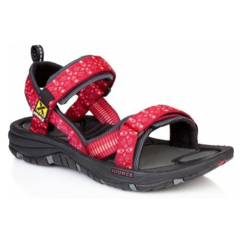Sandalen SOURCE Gobi Women's Tribal Red