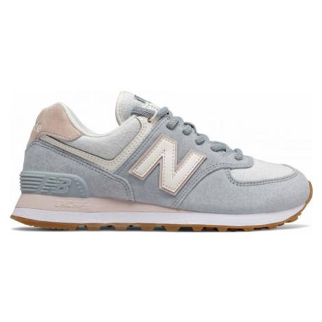 New Balance WL574SUO grau - Damen Sneaker