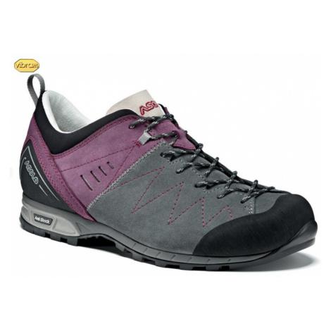 Schuhe ASOLO Track Grau / Grapeade A643