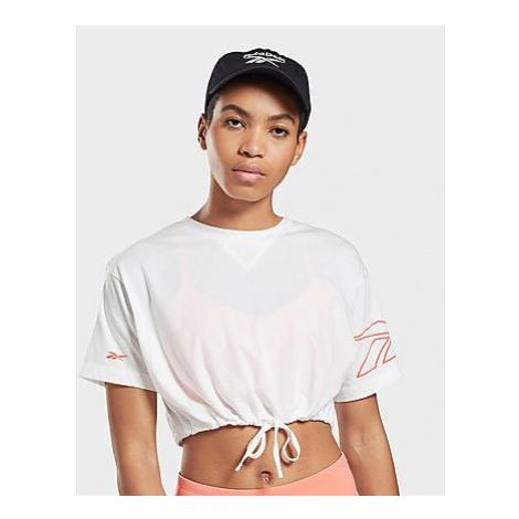 Reebok myt cropped t-shirt - White - Damen, White
