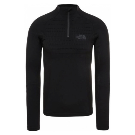 The North Face SPORT L/S ZIP NECK M schwarz - Herren Shirt