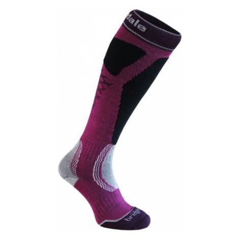 Socken Bridgedale Ski Easy On Women's magenta/black/046