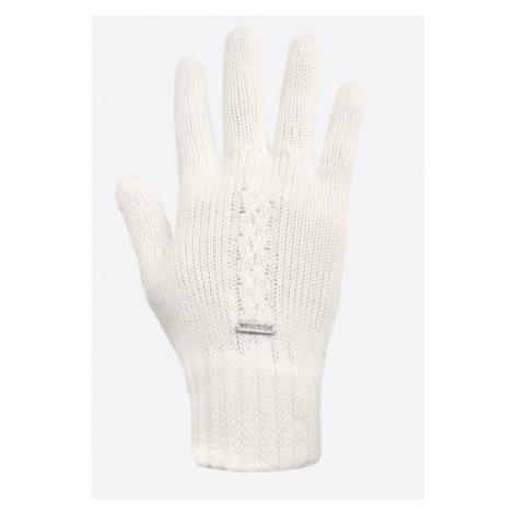 Gestrickte Merino Handschuhe Kama R103 101 natural white