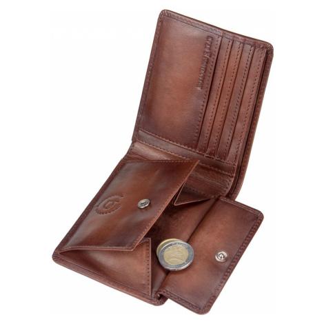 Bugatti Geldbörse Domus RFID 3228 Cognac (0.2 Liter)