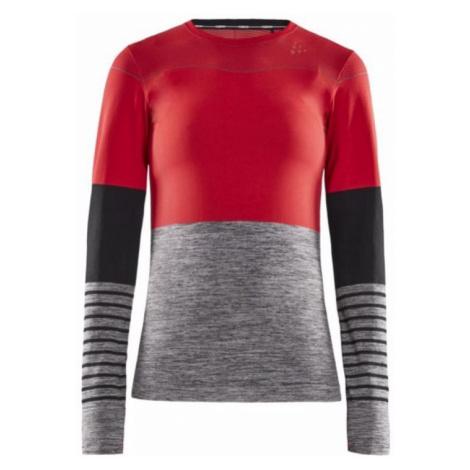 T-Shirt CRAFT Sicherungsstrick Comfort B 1907879-481975 red mit grau