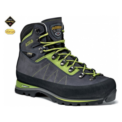 Schuhe Asolo Lagazuoi GV MM navy blau/grün lime/A673