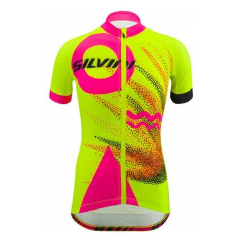 Kinder Radsport Dress Silvini Tanaro CD1433 Neon