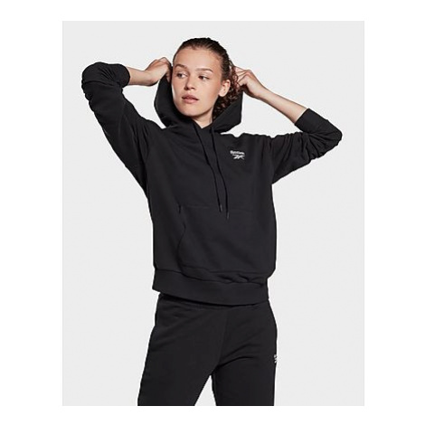 Reebok reebok identity french terry hoodie - Black - Damen, Black