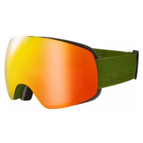 Head GLOBE FMR dunkelgrün - Skibrille