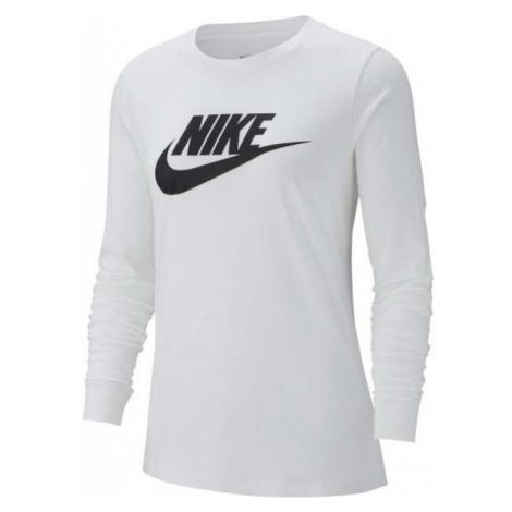 Nike NSW TEE ESSNTL LS ICON FTRA weiß - Damen T-Shirt