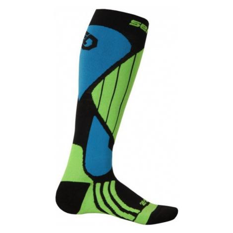 Socken Sensor Snow Pro schwarz / grün / blau 14200064