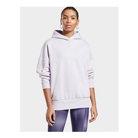 Reebok retro oversize hoodie - Luminous Lilac - Damen, Luminous Lilac
