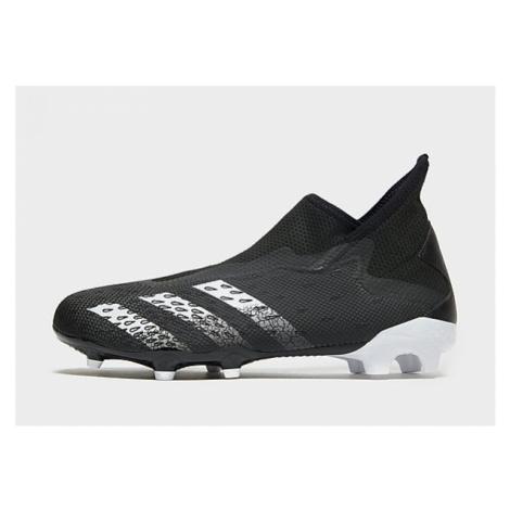 Adidas Predator Freak.3 Laceless Firm Ground Herren - Core Black / Cloud White / Core Black - Da