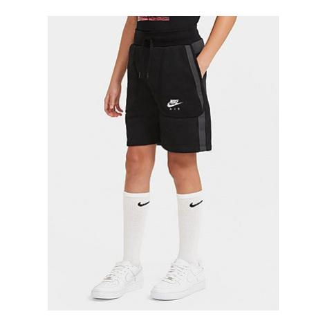Nike Nike Air Shorts aus French-Terry-Material für ältere Kinder (Jungen) - Black/Dark Smoke Gre