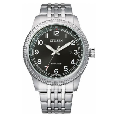 Citizen BM7480-81E Eco Drive Sports Herren 43mm 10ATM