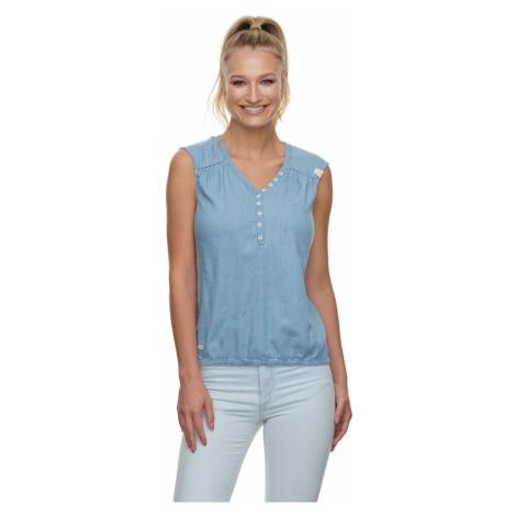 Ragwear Bluse Damen SALTY DENIM 2111-10032 Blau Indigo 2050