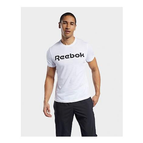 Reebok graphic series linear logo t-shirt - White - Herren, White