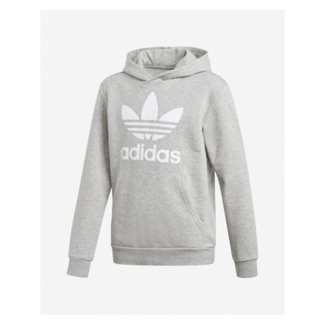 adidas Originals Trefoil Sweatshirt Kinder Grau