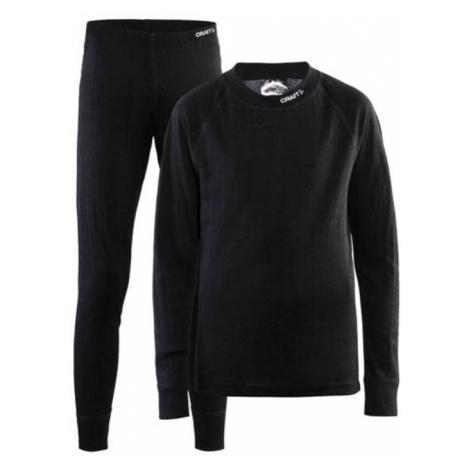 Set CRAFT Nordic Wool JR 1905356-999975 - black