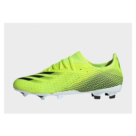 Adidas X Ghosted.3 FG Fußballschuh - Solar Yellow / Core Black / Royal Blue - Herren, Solar Yell