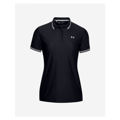 Under Armour Zinger Pique Polo T-Shirt Schwarz