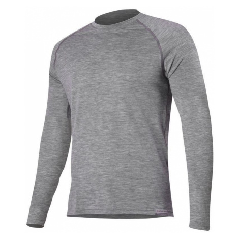 Merino T-Shirt Lasting ATAR 8484 grey Wolle