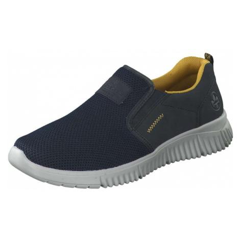 Blaue slipper für herren