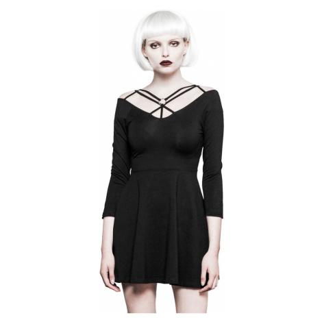 Damen Kleid PUNK RAVE - Serenity - OPQ-295 BK