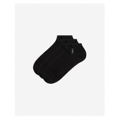Polo Ralph Lauren 3 Paar Socken Schwarz