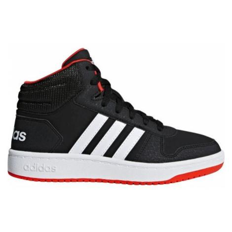 adidas HOOPS MID 2.0 K schwarz - Kinder Sneaker