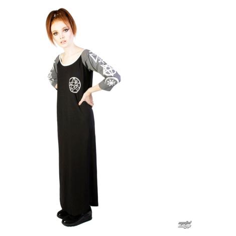 Damen Kleid DISTURBIA - Necronomicon - Black/Grey - DIS782