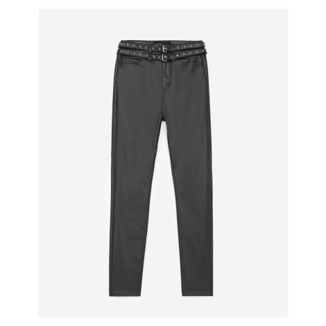 The Kooples - Jeans schwarz doppelter Gürtel - HERREN