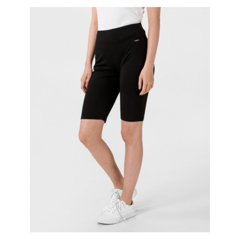 Guess Ombra Pedal Shorts Schwarz