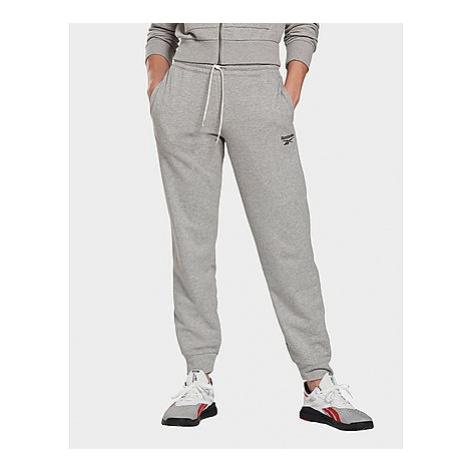 Reebok reebok identity french terry pants - Medium Grey Heather - Damen, Medium Grey Heather