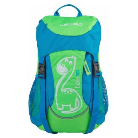 Lewro FOX 10 grün - Kinderrucksack