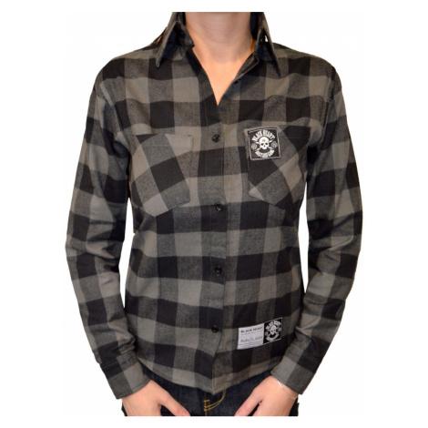 Damen Hemd BLACK HEART - DUKE - SCHWARZ - 014-0005-BLK