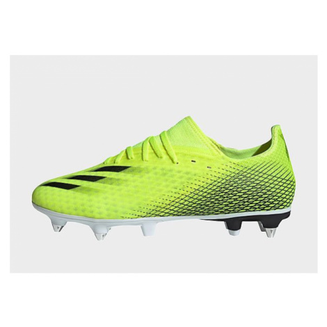 Adidas X Ghosted.3 SG Fußballschuh - Solar Yellow / Core Black / Royal Blue - Herren, Solar Yell