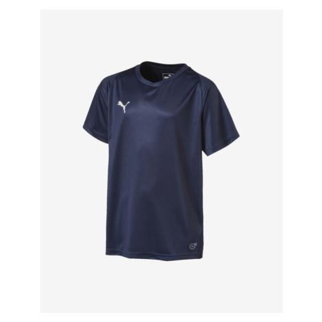 Puma Liga Jersey Core Jr Kinder  T‑Shirt Blau