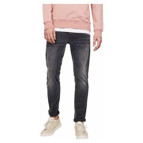 G-Star Herren Jeans 3301 Slim Fit - Grau - Antic Charcoal G-Star Raw