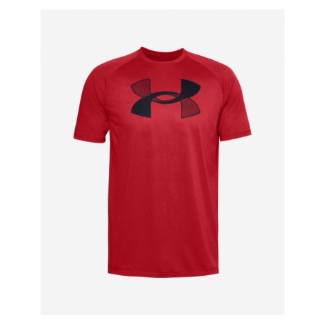 Under Armour Big Logo Tech™ T-Shirt Rot