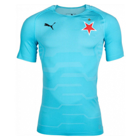 Puma SLAVIA FINAL EVOKNIT GK blau - Herren T-Shirt