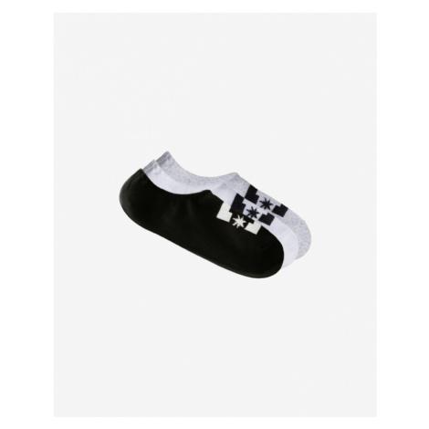 DC 3 Paar Socken Schwarz Weiß Grau