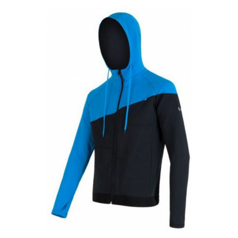 Herren Sweatshirt Sensor Tecnostretch black blue 16200131