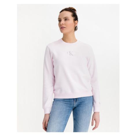 Calvin Klein Monogram Logo Sweatshirt Rosa