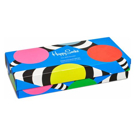 Happy Socks Geschenkbox CLASSIC DOTS GIFT BOX 4-PACK XDOT09-0100 Mehrfarbig