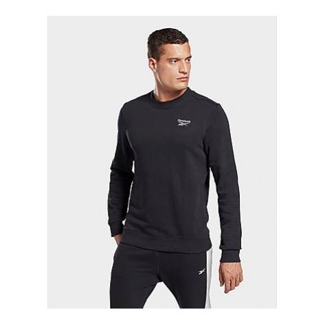Reebok reebok identity crew sweatshirt - Black - Herren, Black