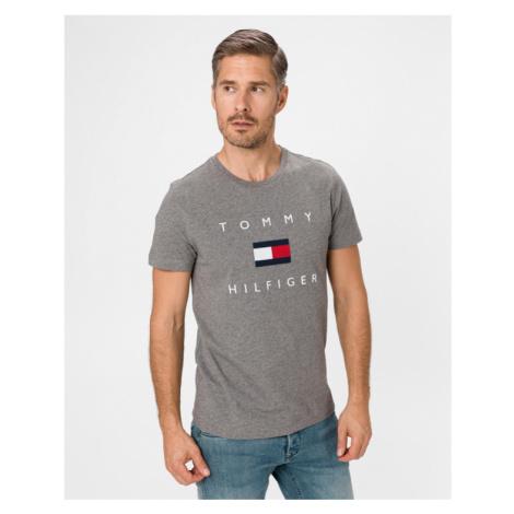 Tommy Hilfiger Flag T-Shirt Grau